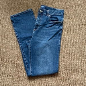 Old Navy 16H boy's straight jeans